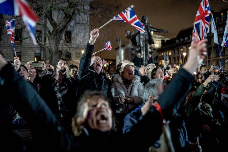 脱欧支持者的许多说法明显是错误的,但随着英国于1月31日正式脱离欧盟,伦敦的一些人进行了庆祝。
