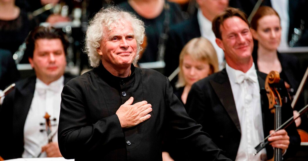 Simon Rattle to Leave the London Symphony for Munich