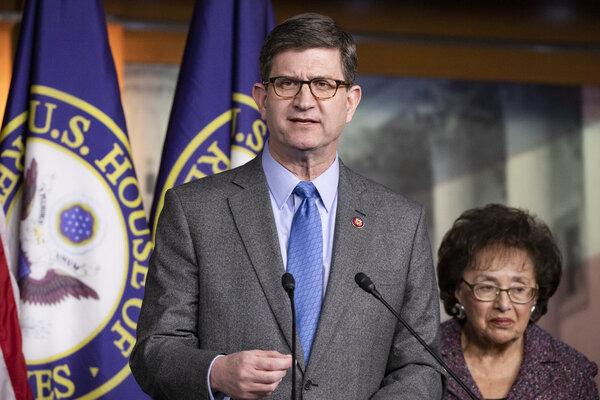 Representative Brad Schneider, Democrat of Illinois, speaking in Washington last year.