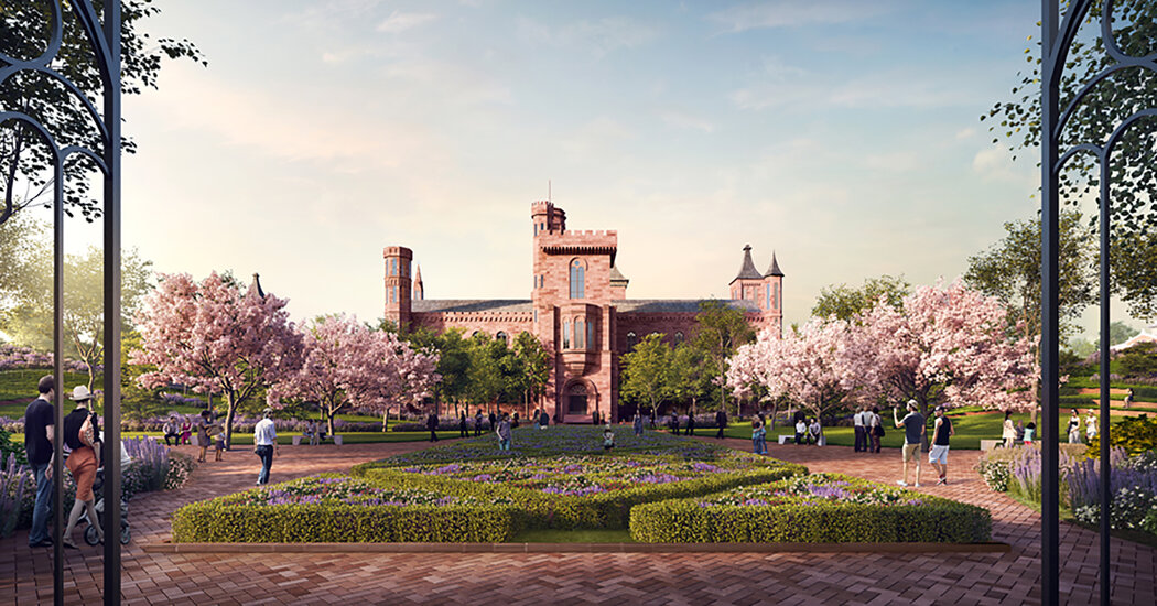 Smithsonian Scales Back  Billion Expansion Plan