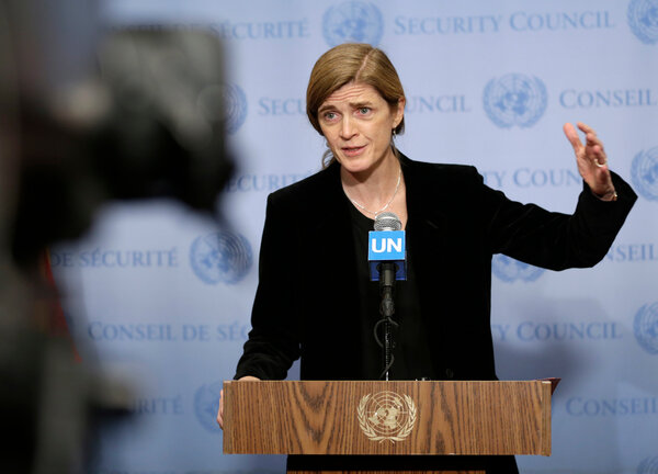 President-elect Joseph R. Biden Jr. will nominate Samantha Power, a former U.S. ambassador to the United Nations, as the head of the United States Agency for International Development.