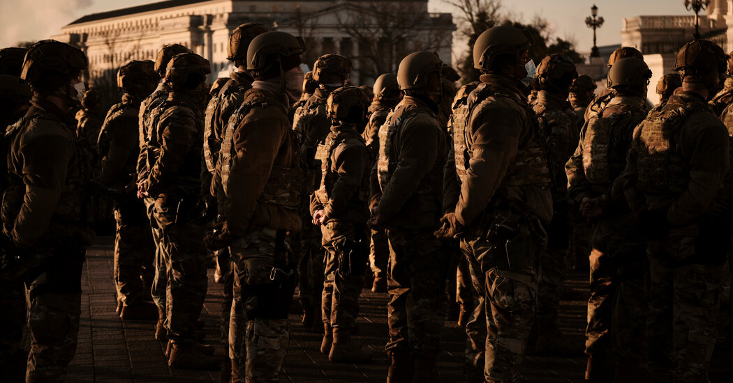 Pentagon Marching Where It Once Feared to Go: Armed Troops on the Streets