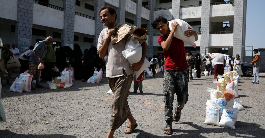 U.S. Blacklisting of Yemen's Houthis May Cause 'Large-Scale Famine,' U.N. Warns