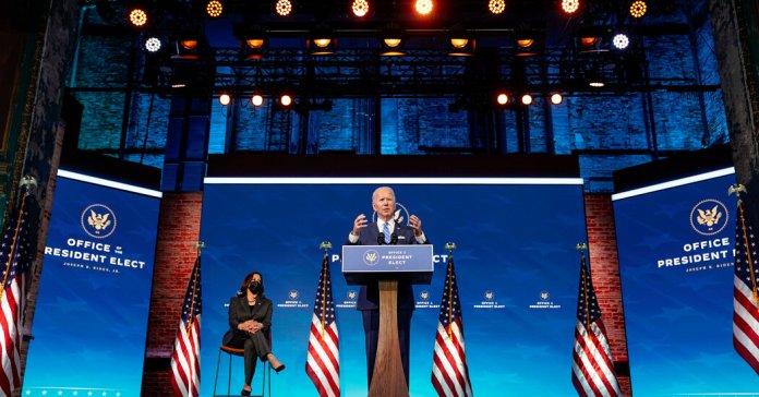 Biden Plans Covid Vaccine Push