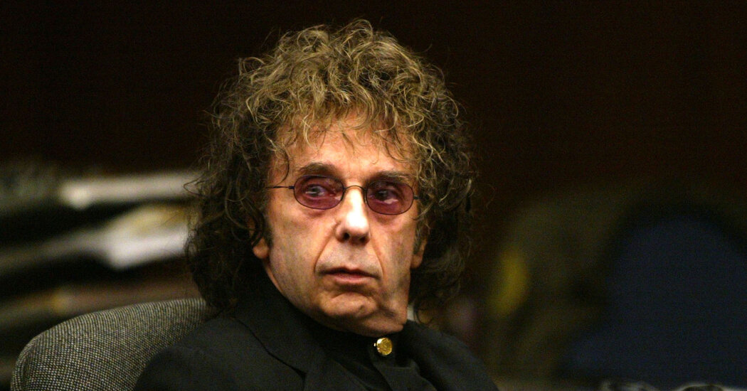 Phil Spector Spent Last Days Suffering With Covid-19