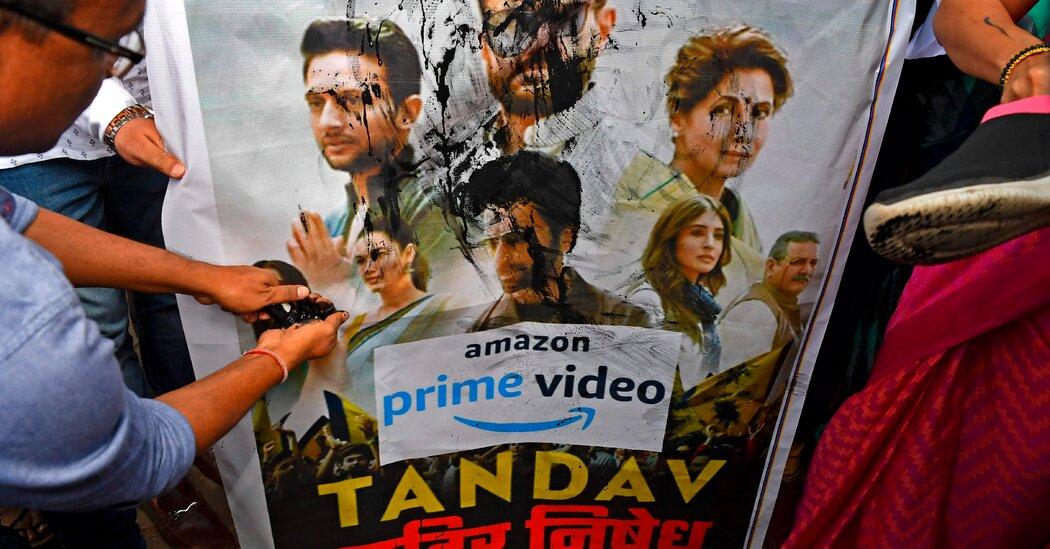Amazon's 'Tandav' Show Angers India's Hindu Nationalists