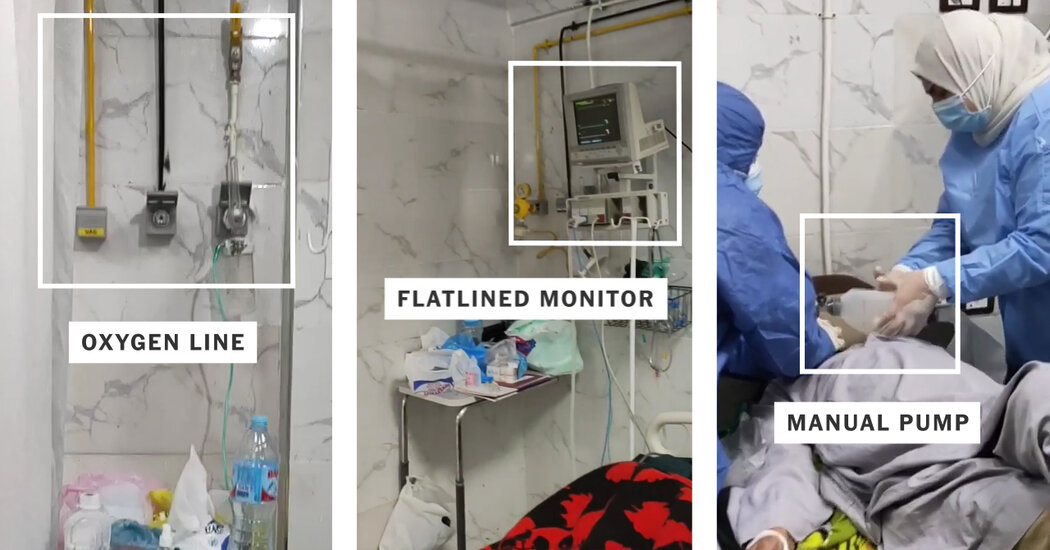 Egypt Denied an Oxygen Failure Killed Covid Patients. We Found That It Did.