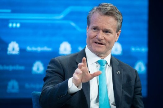 """""""We continued to see signs of a recovery,"""" Bank of America's chief executive, Brian Moynihan, said in a statement."""