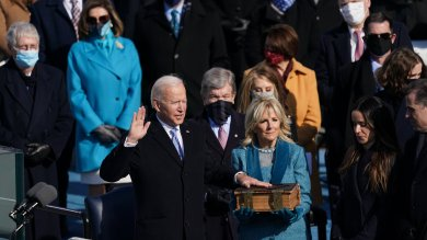20vid Biden sworn in