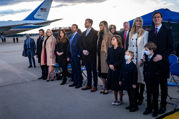 President Donald J. Trump extended Secret Service protection for his adult children, among others, for six months.