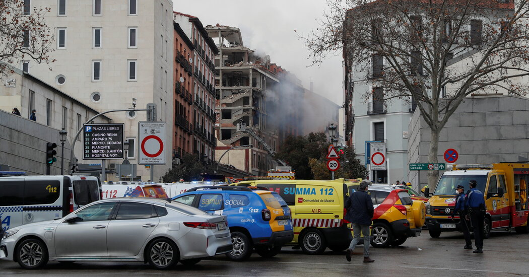 Madrid Explosion Leaves at Least 2 Dead