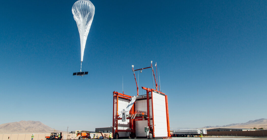 Google Shuts Loon Hot-Air Balloon Project