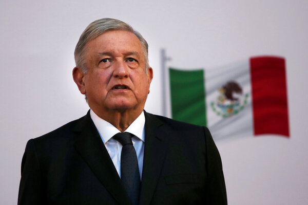 President Andrés Manuel López Obrador of Mexico said he would continue to carry out his official duties.