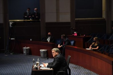 As attorney general, William P. Barr played up the threat from antifa, a loose collection of leftist agitators, even as Justice Department and F.B.I. officials saw a greater threat from the far right.