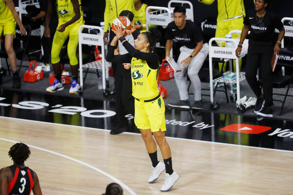 Alysha Clark averaged a career-high 10 points per game with the Seattle Storm last season.