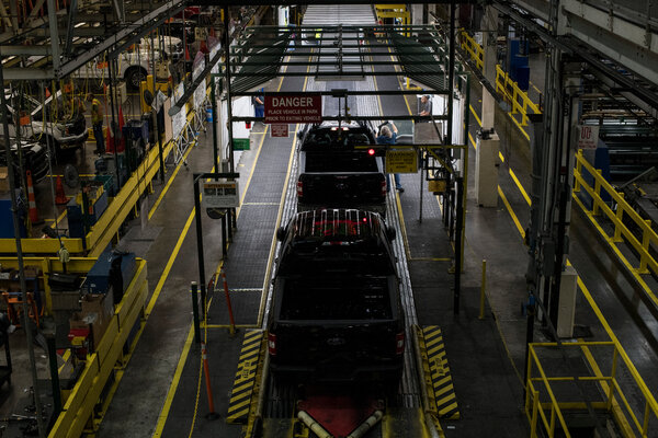 Ford's F-series trucks are the top-selling vehicle line in the United States.