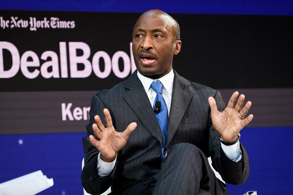 Kenneth Frazier, the chief executive of Merck,is one of four Black chief executives of Fortune 500 companies.