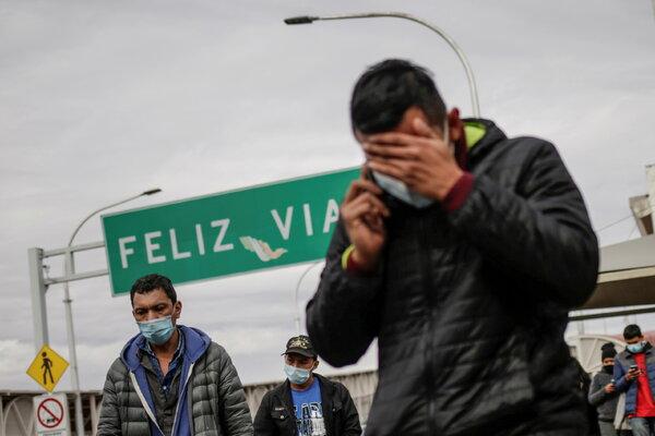 Deportees in Ciudad Juarez, Mexico, last month.