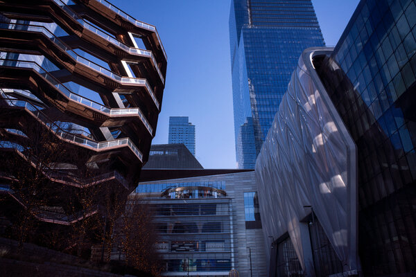 Hudson Yards has suffered during the pandemic, raising questions about its future.