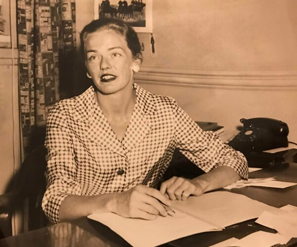 In the 1950s, Dr.  Snyder, when she was the female dean at Le Moyne College in Syracuse, NY