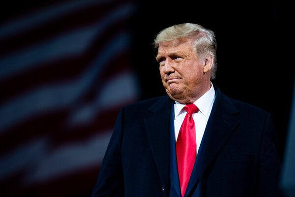 Former President Donald J. Trump's lawyers are set to argue that the Constitution forbids a former president to be put on trial.
