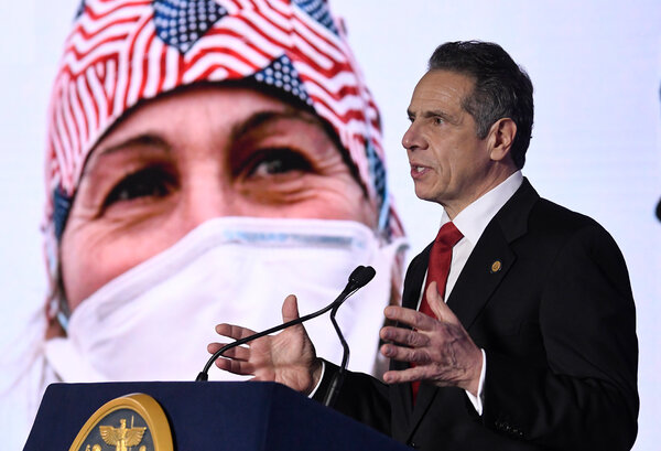 Gov. Andrew M. Cuomo of New York conceded on Monday that his administration's lack of transparency about coronavirus-related deaths in nursing homes in the state had been a mistake.