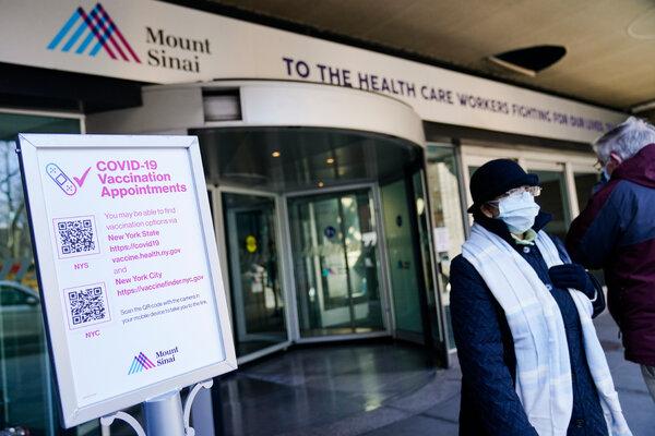 Mount Sinai Hospital in New York.