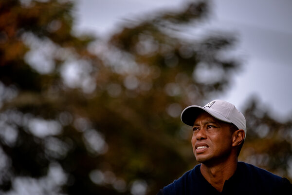 Tiger Woods at the United States Open in September.