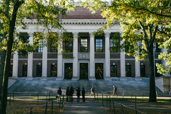 Harvard University in 2018. A group of plaintiffsled by a conservative legal strategist accuses the university of discriminating against Asian-Americans.