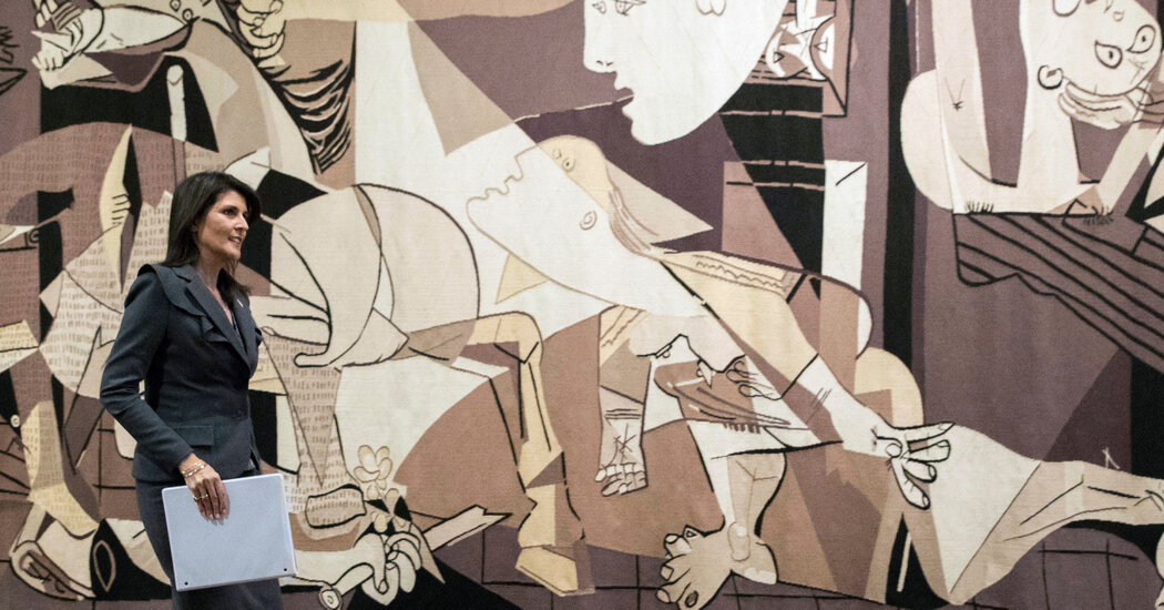 'Guernica' Tapestry Is Taken Back From U.N. by a Rockefeller