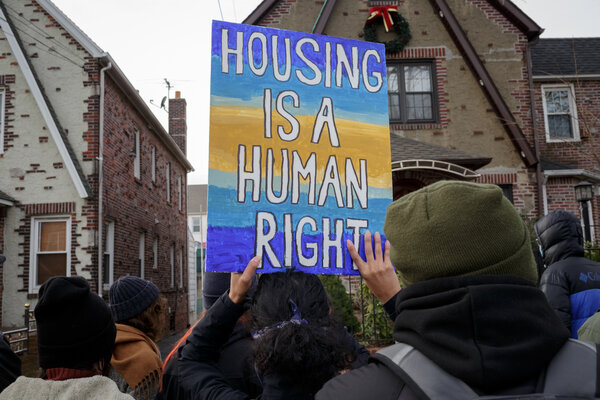 The bill would provide assistance to people in danger of being evicted and to help homeowners avoid foreclosure.