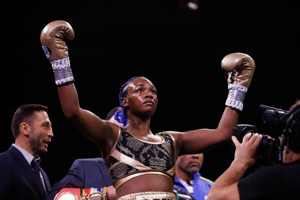 Shields has not lost in 10 professional bouts. She lost once as an amateur in 69 fights.