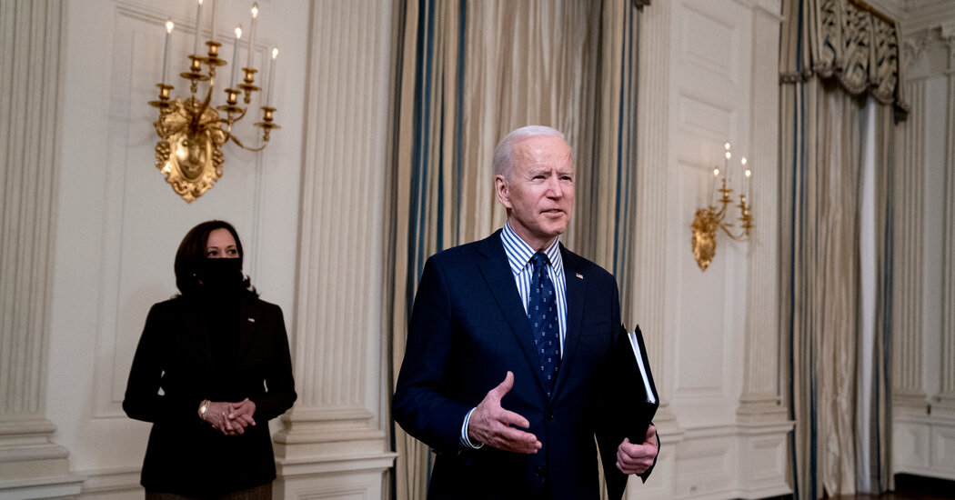 Biden Plans Messaging Blitz to Sell Economic Aid Plan