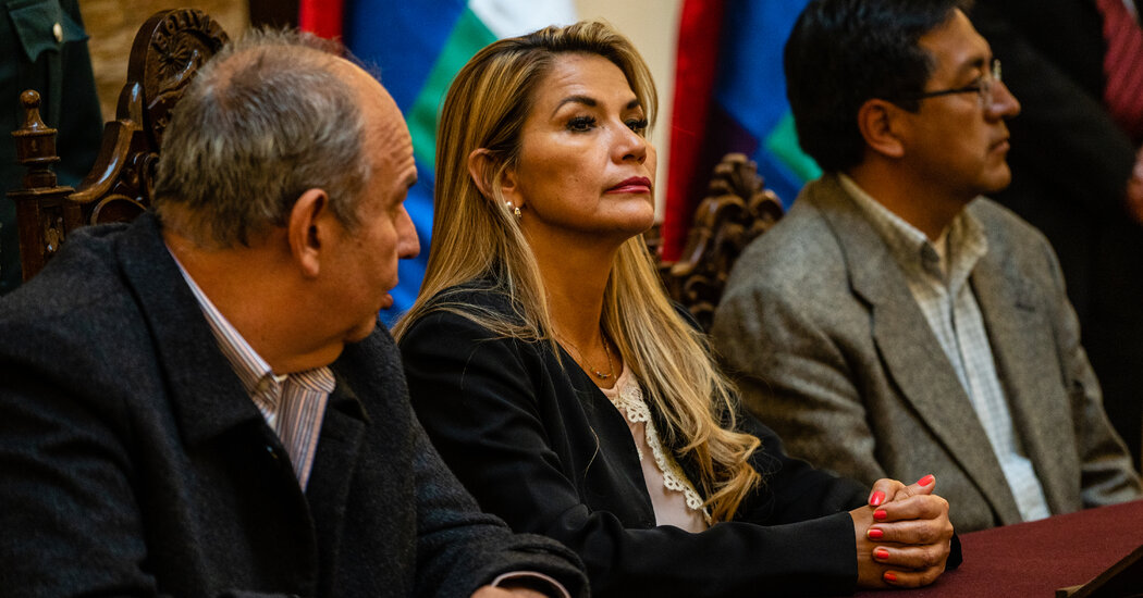 Jeanine Añez, Former Bolivian President, Says She Faces Arrest