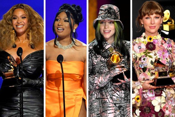 Grammys 2021 Complete Winner List: Beyonce, Megan Thee Stallion, Billie Eilish Win Big