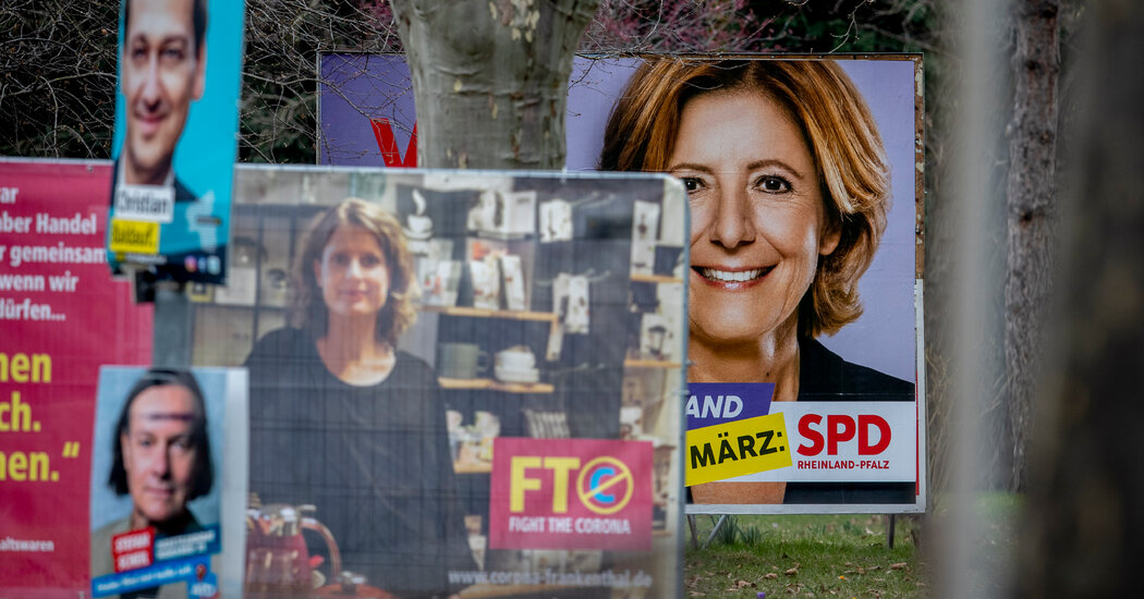 Election Year in Germany Kicks Off With Voting in Two States