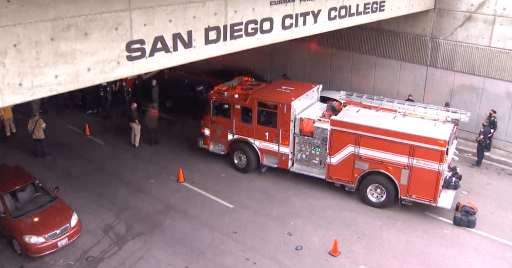 3 Are Struck and Killed by Driver in San Diego