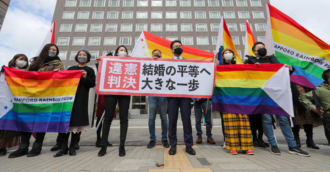 Japan Court Backs Same-Sex Marriage. Laws Still Block It.