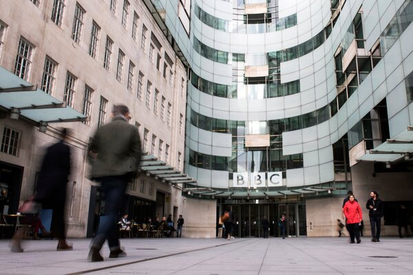 The BBC's headquarters in London. The public broadcaster has been accused of not serving smaller communities.