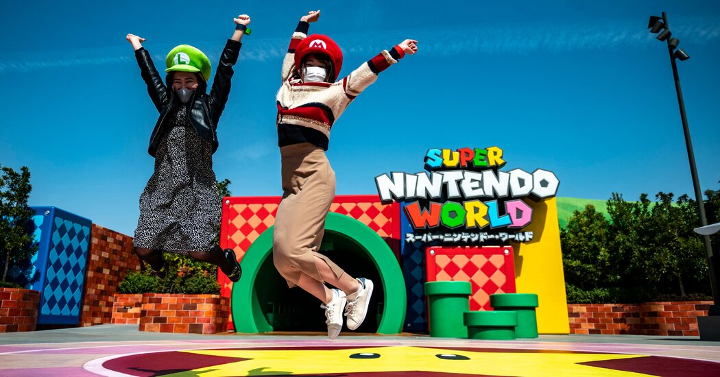 Super Nintendo World Looks for a Level Beyond the Pandemic