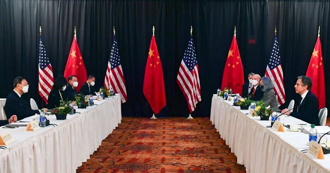 China's Sharp Words in Alaska Signal its More Confident Posture