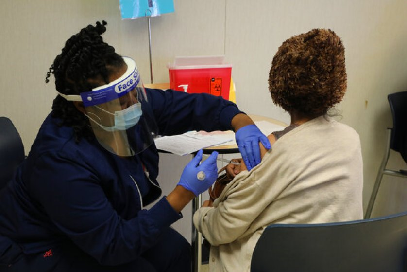 One study found that just four out of 8,121 fully vaccinated employees at a hospital in Dallas became infected, while another found that just seven out of 14,990 workers in California tested positive two or more weeks after receiving the vaccine.<br>