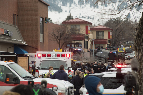 The shooting at the King Sooper grocery store in Boulder, Colo., on Monday came after a dangerous year for grocery workers, who dealt with the coronavirus and increasingly hostile customers.