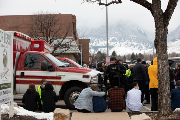 Ten people were killed at a grocery store in Boulder, Colo., on Monday.