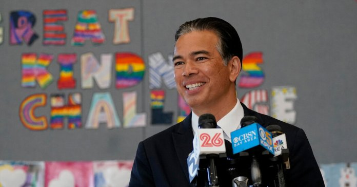 Rob Bonta Is Named Attorney General in California