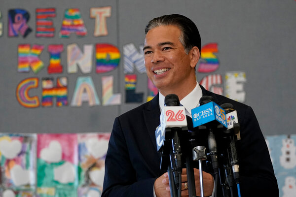 Rob Bonta will be California's second Asian-American attorney general, after Vice President Kamala Harris.