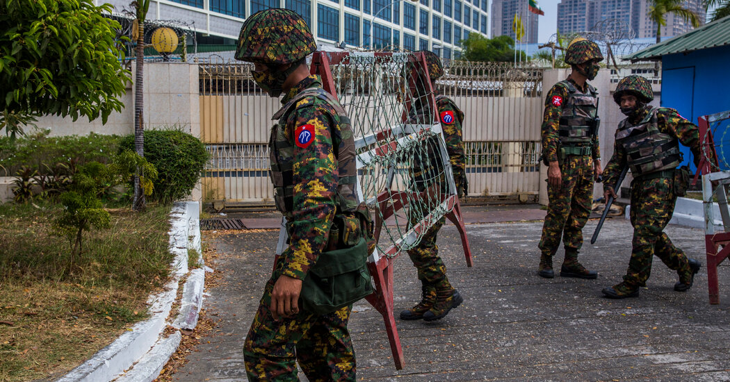 Facebook Takes a Side, Barring Myanmar Military After Coup