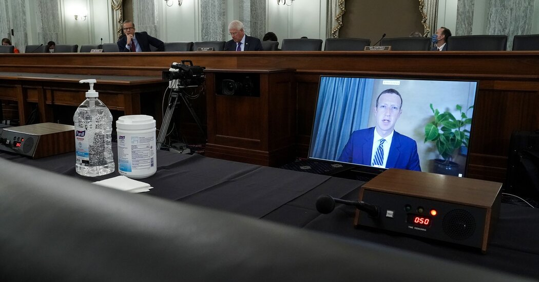 Disinformation Hearing with Facebook, Google and Twitter: Live Updates