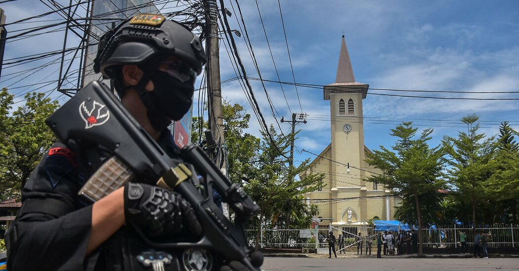 Indonesia Church Rocked by Explosion on Palm Sunday