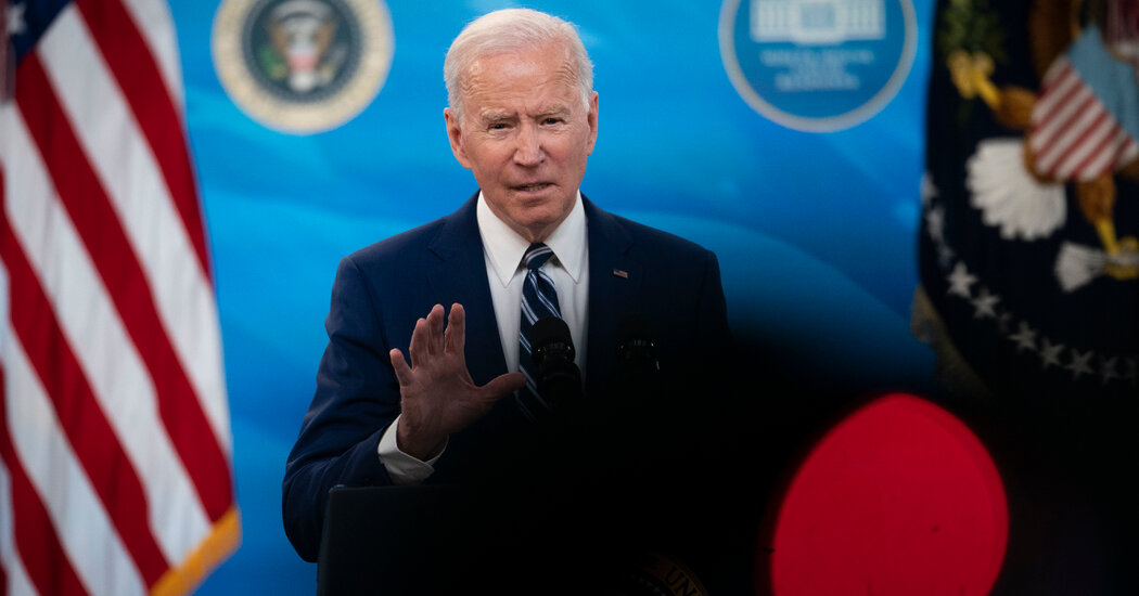 Biden Pushes Mask Mandate as C.D.C. Director Warns of 'Impending Doom'
